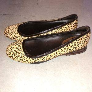 Cole Haan Shoes - 👠Cole Haan Leopard Print Ballet Flats Hair 7.5